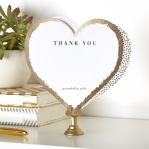Wedding Gift Thank You Notes – Wedding Gift Thank You Card
