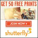 Shutterfly 50 Free Prints 125x125