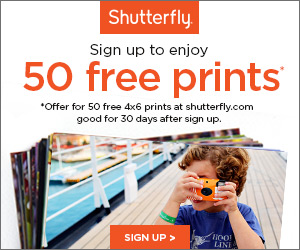 Shutterfly 50 Free Prints