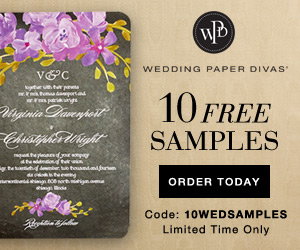 Click here for your Free Save the Date and Wedding Invitations from Wedding Paper Divas!