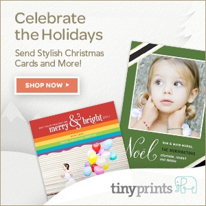 custom christmas cards by tinyprints