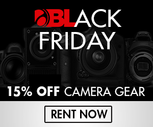 BorrowLenses Black Friday Special 2014
