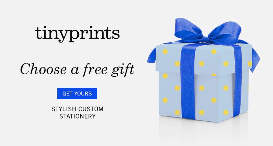 Tiny Prints - Free Gift