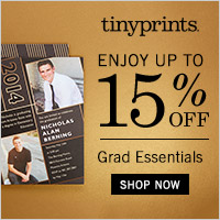 Graduation Announcements from Tiny Prints