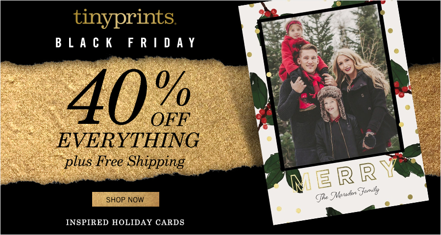 Tiny Prints - Black Friday Sale