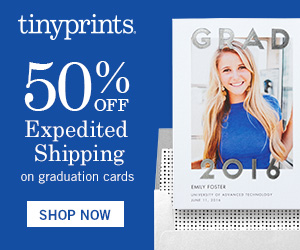 Tiny Prints - 50% Off  Expedited Shipping