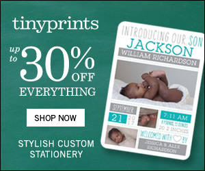 Tiny Prints - Up to 30% Off