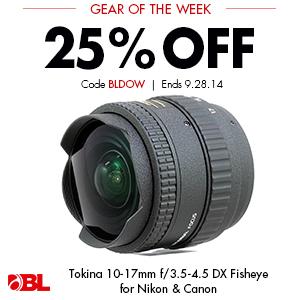 Tokina 10-17mm f/3.5-4.5 DX Fisheye for Canon & Nikon