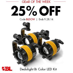 Dedolight Bi Color LED Kit