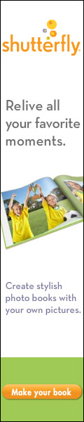 Shutterfly Photo Books 120x600