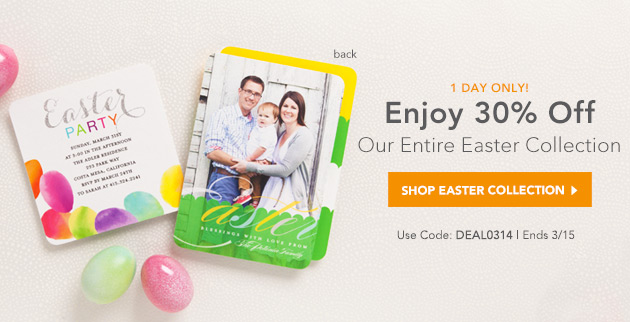 Tiny Prints Easter Deal of the Day