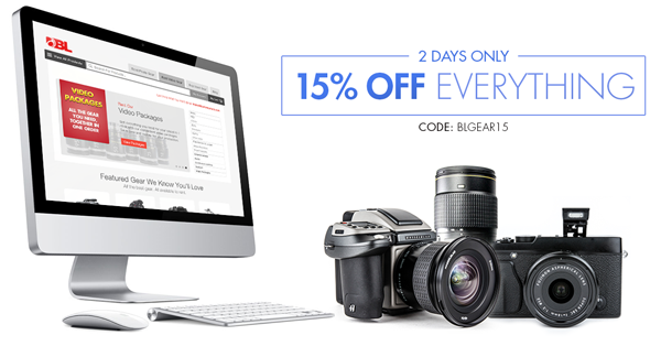 2 Days Only - 15% OFF Everything!