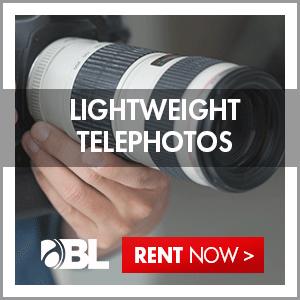 Rent Lightweight Telephotos