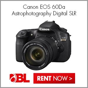New! Canon EOS 60Da Astrophotography Digital SLR