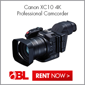 New! Canon XC10 4K Professional Camcorder