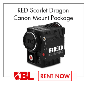 RED Scarlet Dragon Canon Mount Package