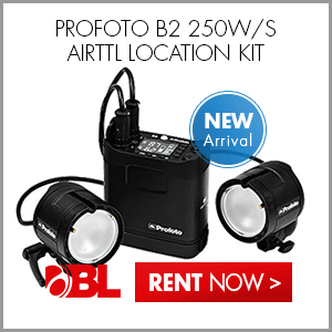 Rent the Profoto B2 250W/s AirTTL Location Kit