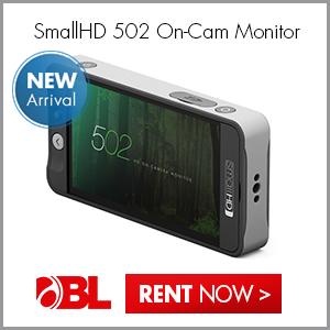 New! SmallHD 502 On-Camera Monitor