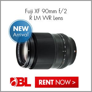 Fuji XF 90mm f2 R LM WR Lens