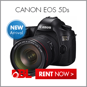 Rent the Canon EOS 5Ds Digital SLR