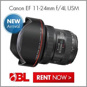 New! Canon EF 11-24mm f/4L USM Lens