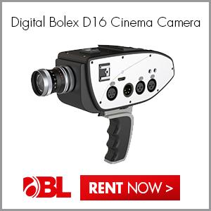 New! Digital Bolex D16 Cinema Camera