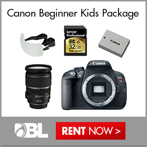 Canon Beginner Kids Package