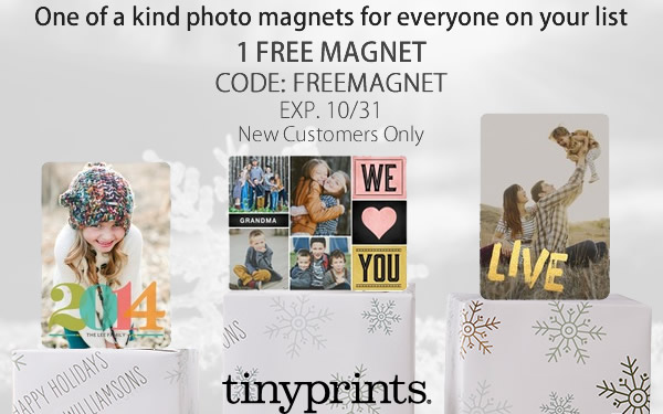 FREE Tiny Prints Personalized.