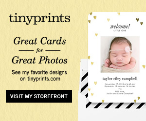 Shop great Cards for great Photos at Tinyprints.com!