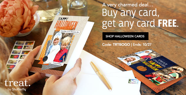 Treat Greeting Card BOGO