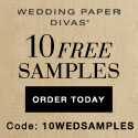 Wedding Paper Divas Free Samples