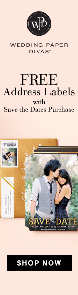 Wedding Paper Divas - Save the Dates Sale + Free Address Labels