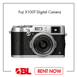 Fuji X100T Digital Camera with 23mm f/2 Lens