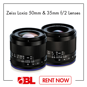 Zeiss Loxia 35mm & 55mm f/2 Biogon T* Lens for Sony E Mount