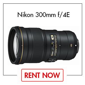 Nikon 300mm f/4E Lens