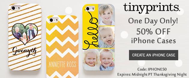 Tiny Prints iPhone Cases
