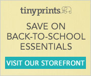 Back to School Stationery from Tiny Prints