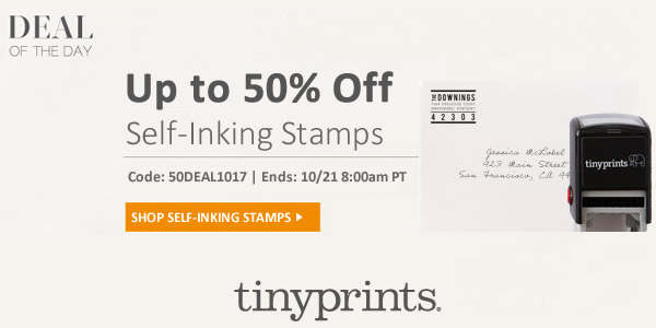 Tiny Prints Deal of the Day