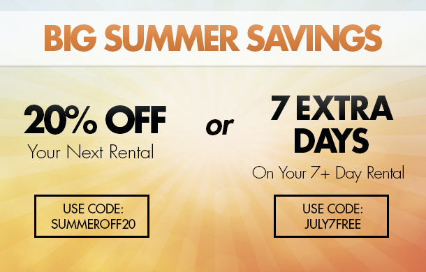 Big Summer Savings!
