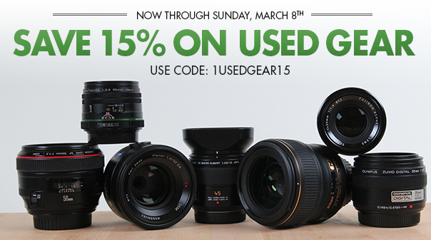 BorrowLenses Used Gear Sale!