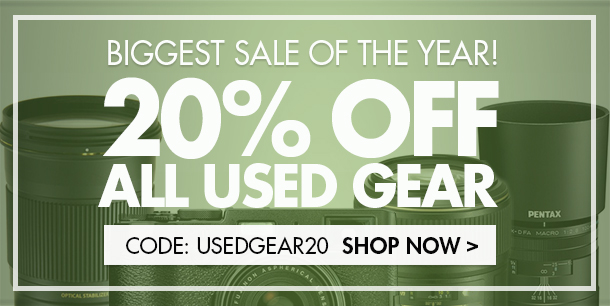 Shop Now - 20% Off All Used Gear