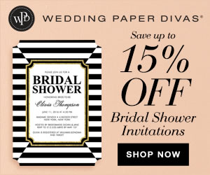 wedding shower invites, thank you cards, save the date