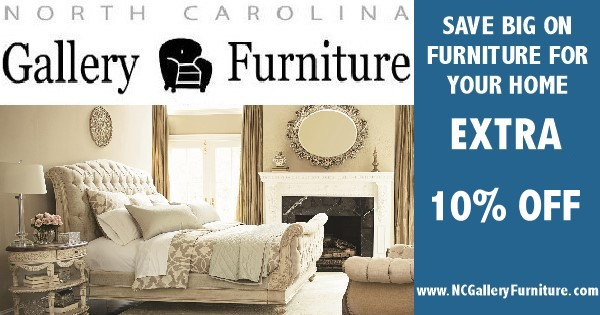 NC Gallery Furniture 10% Off Sale