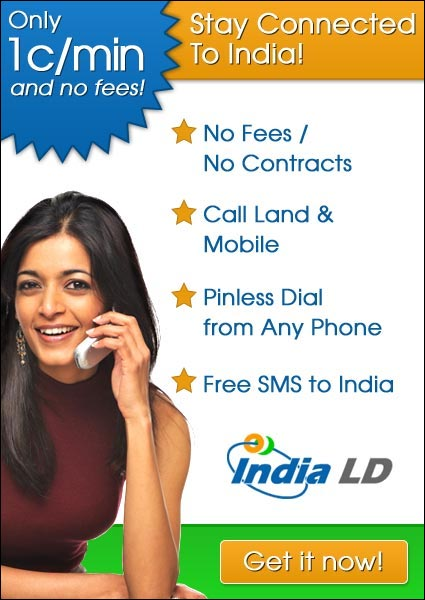 Call India for 1 cent per minute