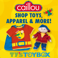 Shop Caillou at Ty's Toy Box!