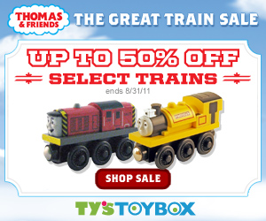 Up to 50% off select Thomas & Friends Engines! Sale ends 8/31!