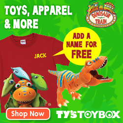 Traintastic! Dinosaur Train Shop now at Ty's Toy Box