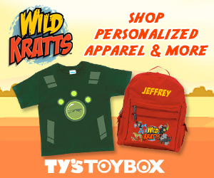 Shop Wild Kratts at Ty's Toy Box!