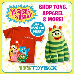 Shop Yo Gabba Gabba at Ty's Toy Box!