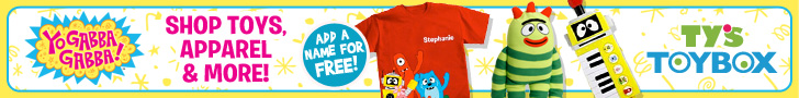 Shop Yo Gabba Gabba at Ty's Toy Box!